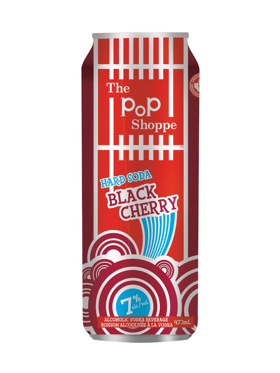 Image for Pop Shoppe Black Cherry Hard Soda from LCBO
