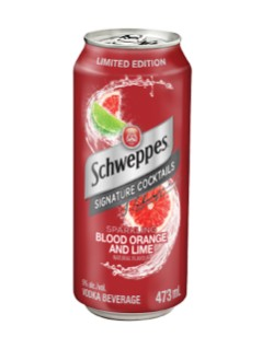 Schweppes Blood Orange & Lime