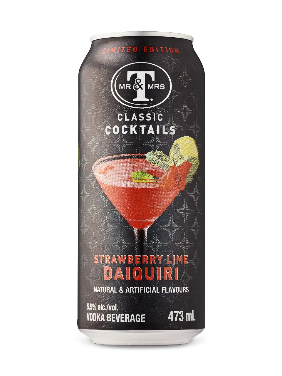 Image for Mr. & Mrs. T's Strawberry Lime from LCBO