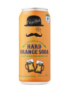 Crazy Uncle Hard Orange Soda