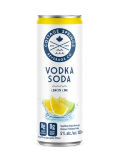 Cottage Springs Lemon Lime Vodka Soda