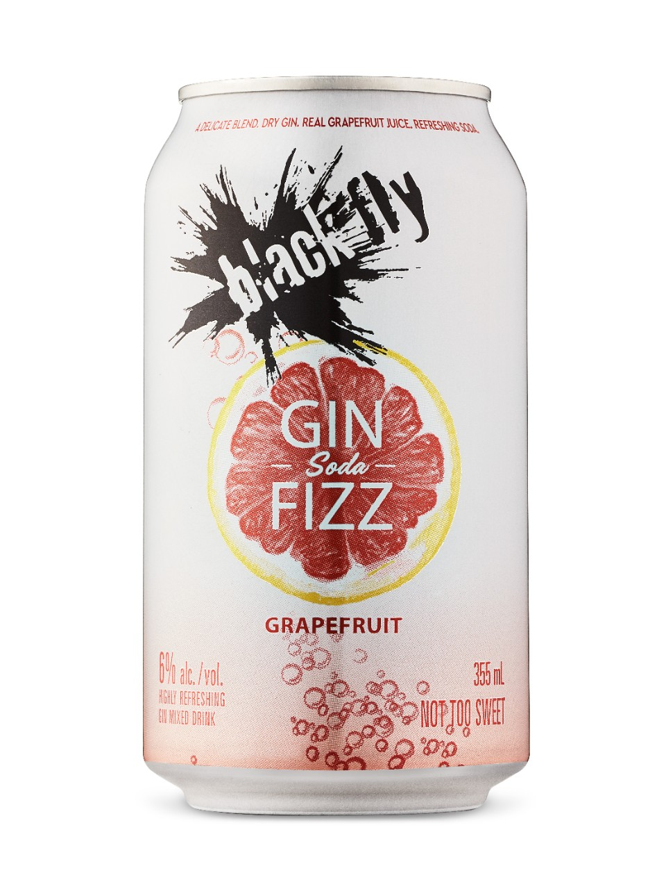 Image for Black Fly Grapefruit Gin Fizz from LCBO