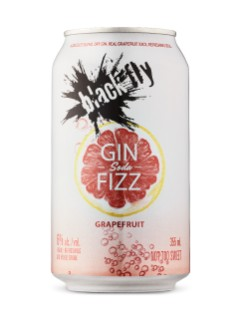 Black Fly Grapefruit Gin Fizz