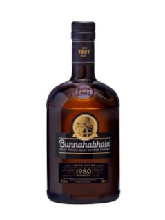 Bunnahabhain Limited Edition Islay Single Malt Scotch Whisky 1980