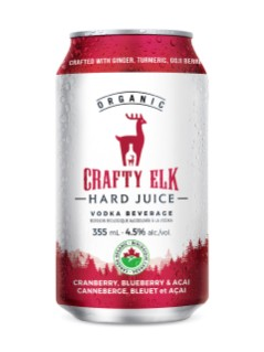 Crafty Elk Hard Juice CRANBERRY, BLUEBERRY & ACAI