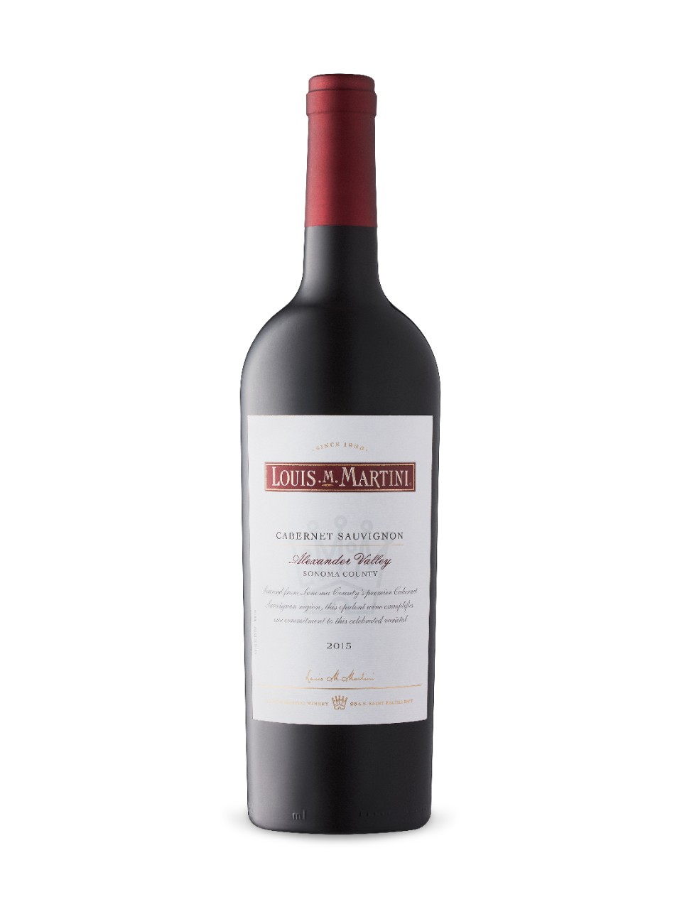 Image for Louis M. Martini Alexander Valley Cabernet Sauvignon 2015 from LCBO