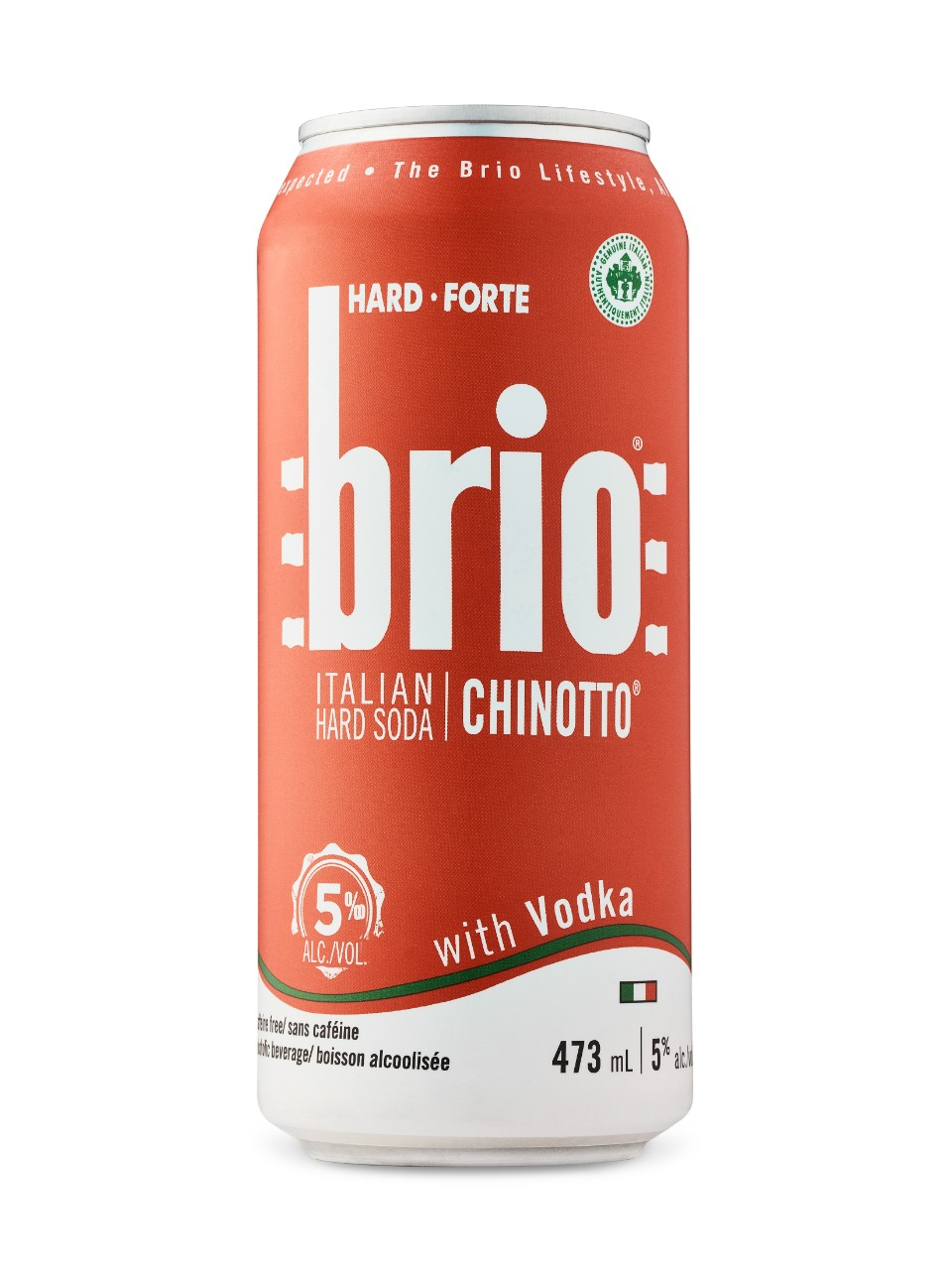 Brio Hard Soda With Vodka