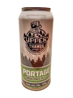 Upper Thames Brewing Co Portage IPA