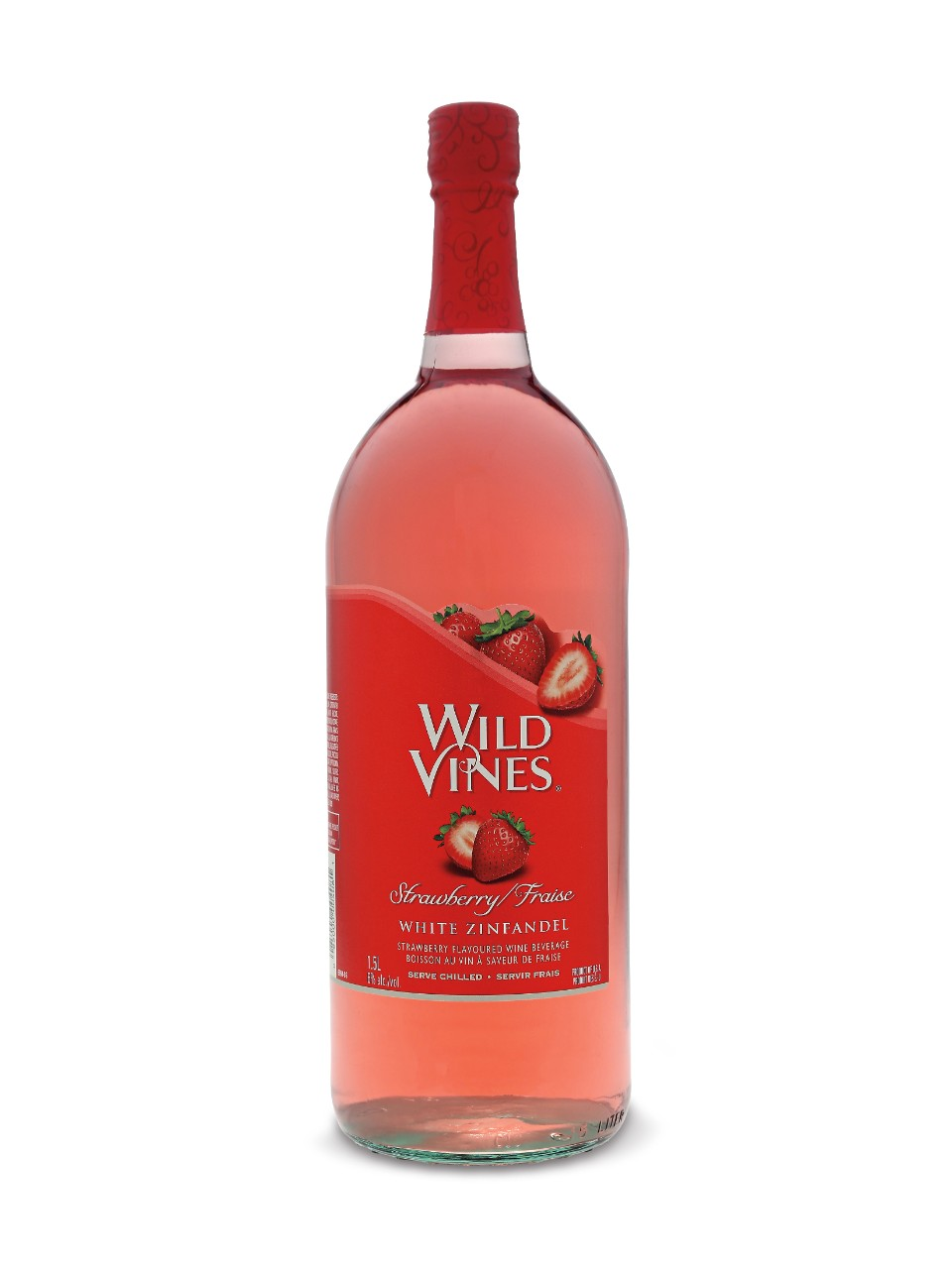 Image for Wild Vines Strawberry White Zinfandel from LCBO