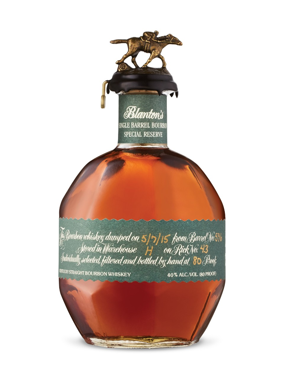 Kentucky Straight Bourbon Blanton's Single Barrel Special Reserve