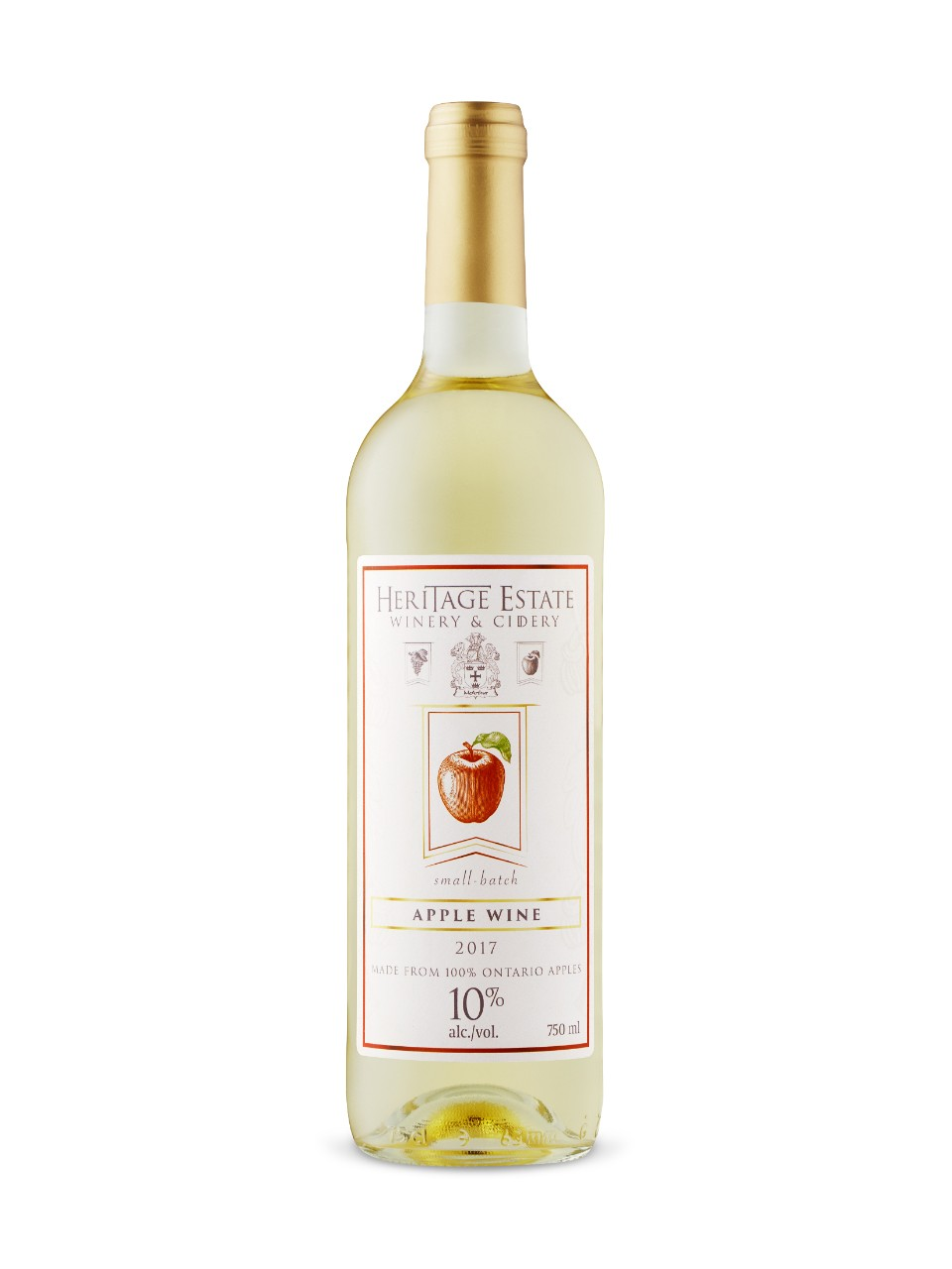 Image for Heritage Estate Apple Wine from LCBO