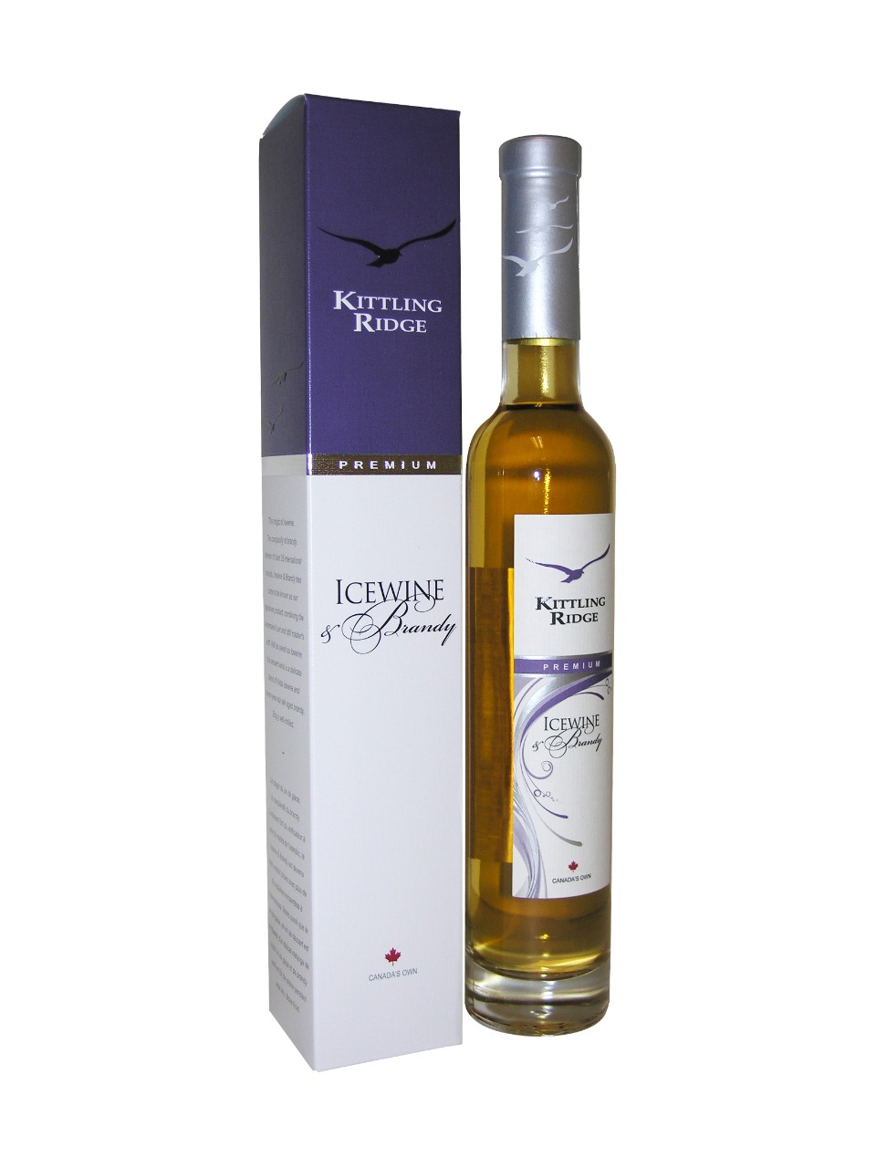 Vin de glace et Brandy Kittling Ridge