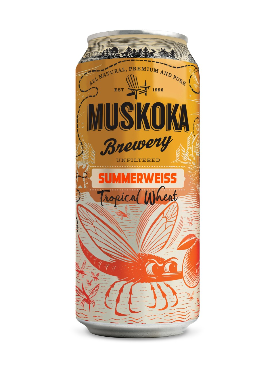 Image for Muskoka Summerweiss Tropical Wheat from LCBO