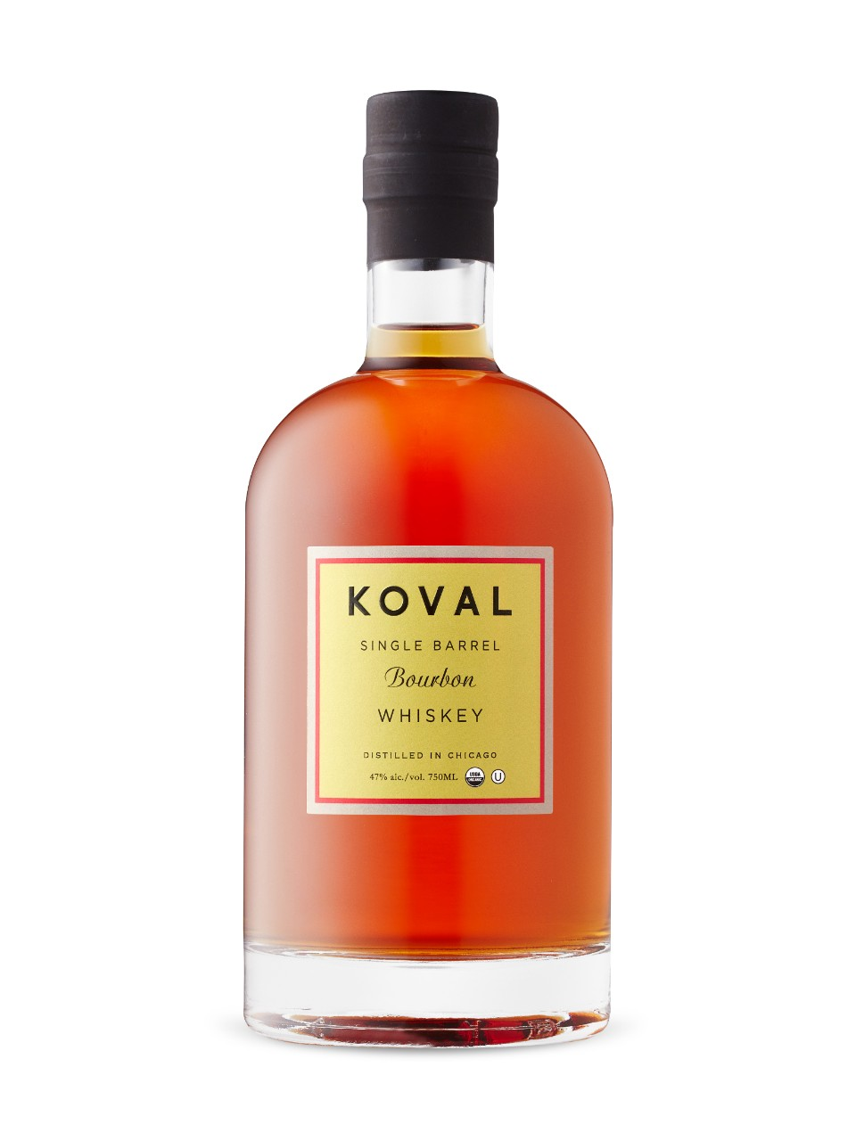 Image for Koval Single Barrel Organic Bourbon Chicago from LCBO