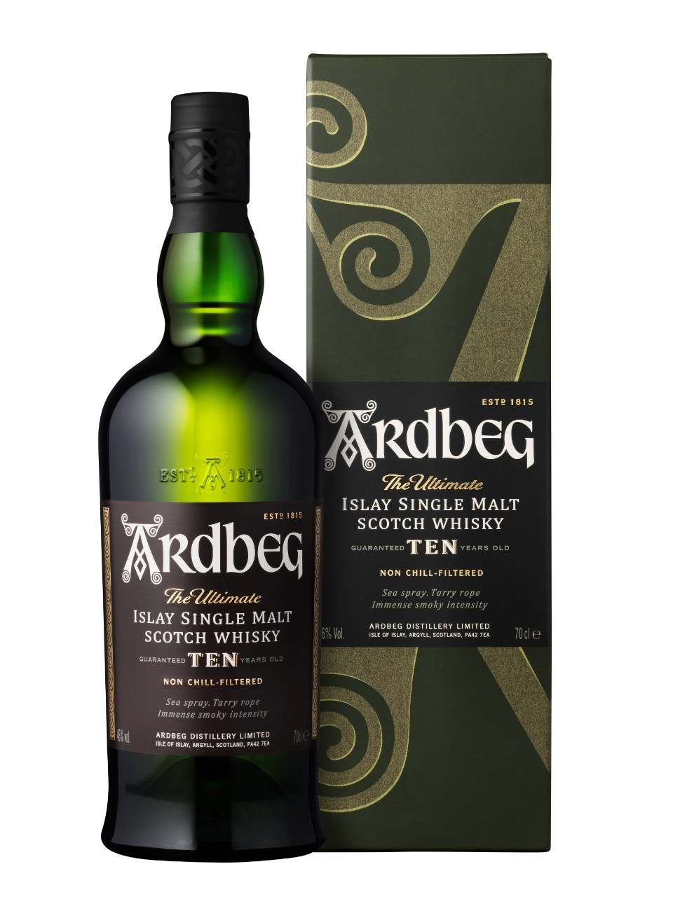 Ardbeg 10 Year Old Islay Scotch Whisky from LCBO