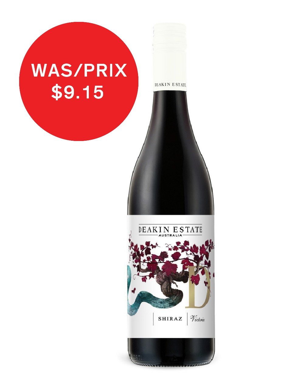 Image for Deakin Estate Shiraz from LCBO