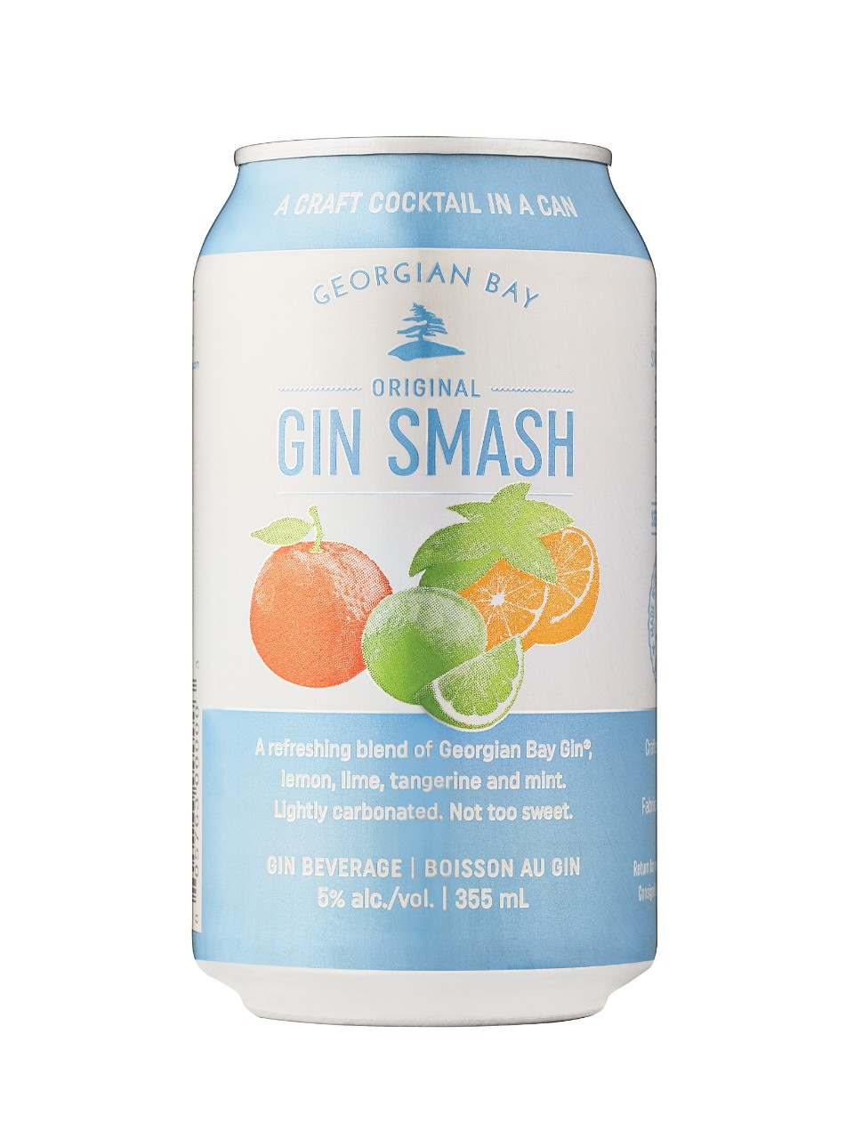 Georgian Bay Gin Smash from LCBO
