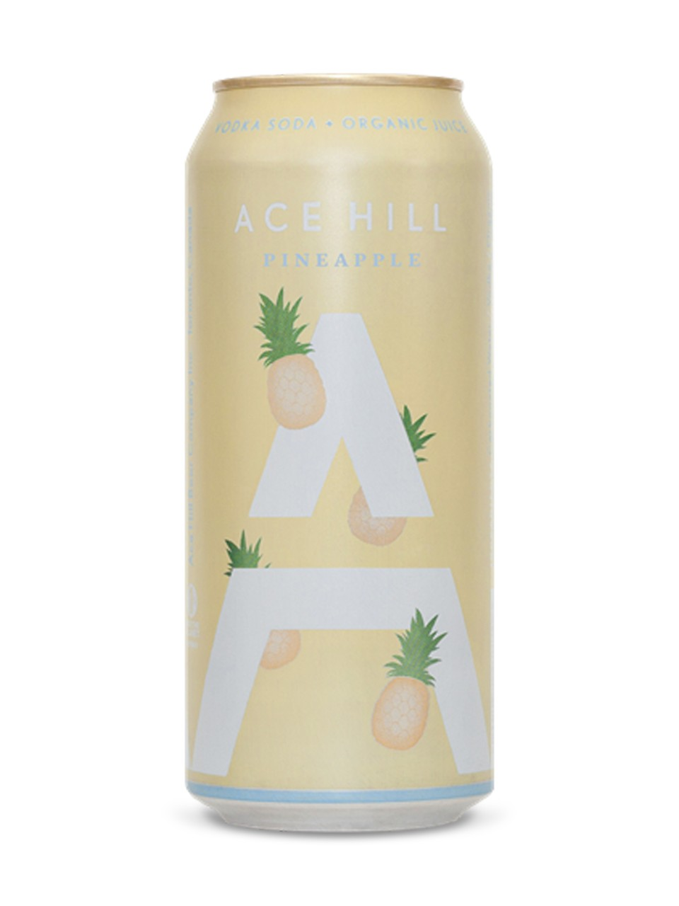 Image for Ace Hill Pineapple Vodka Soda from LCBO