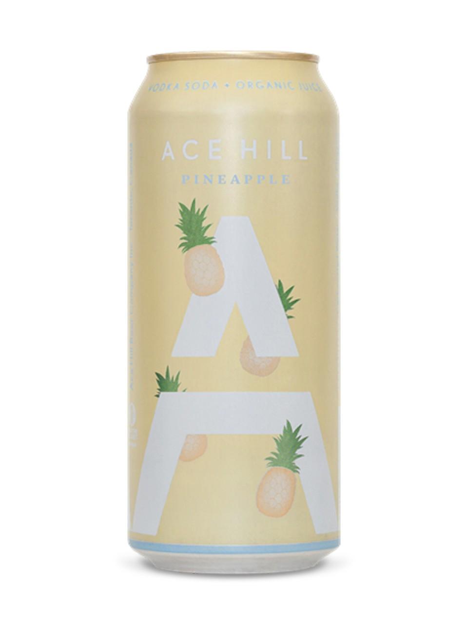 Ace Hill Pineapple Vodka Soda Lcbo