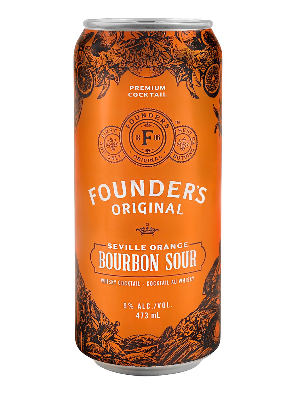 Founder's Original Bourbon Sour from LCBO