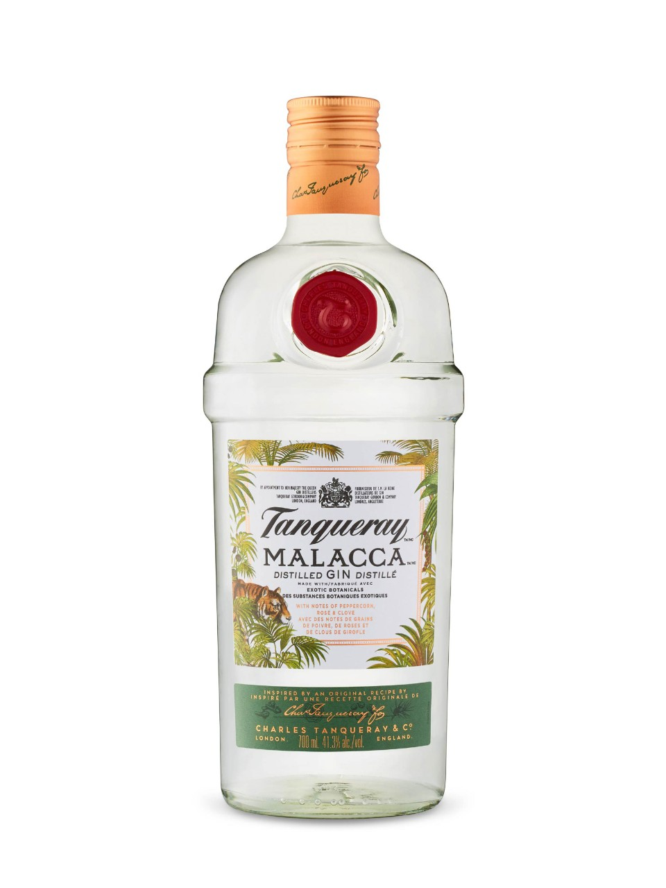 Image for Tanqueray Malacca Gin from LCBO