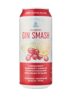 Georgian Bay Cranberry Gin Smash
