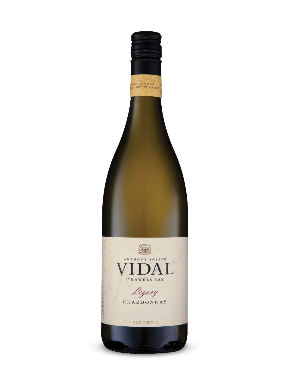 Image for Vidal Legacy Chardonnay 2016 from LCBO