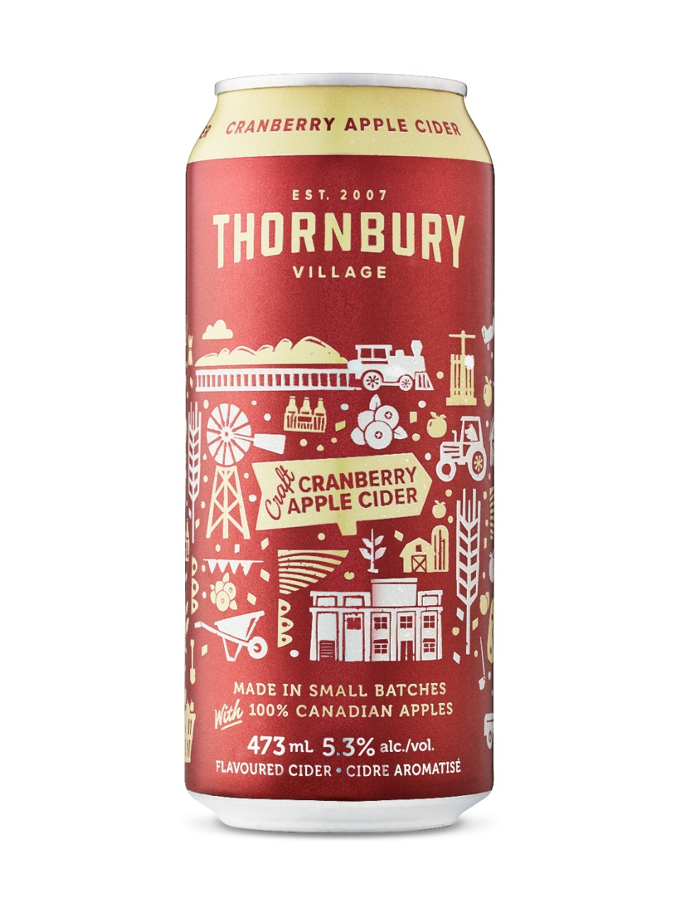 Image for Thornbury Craft Cranberry Cider from LCBO