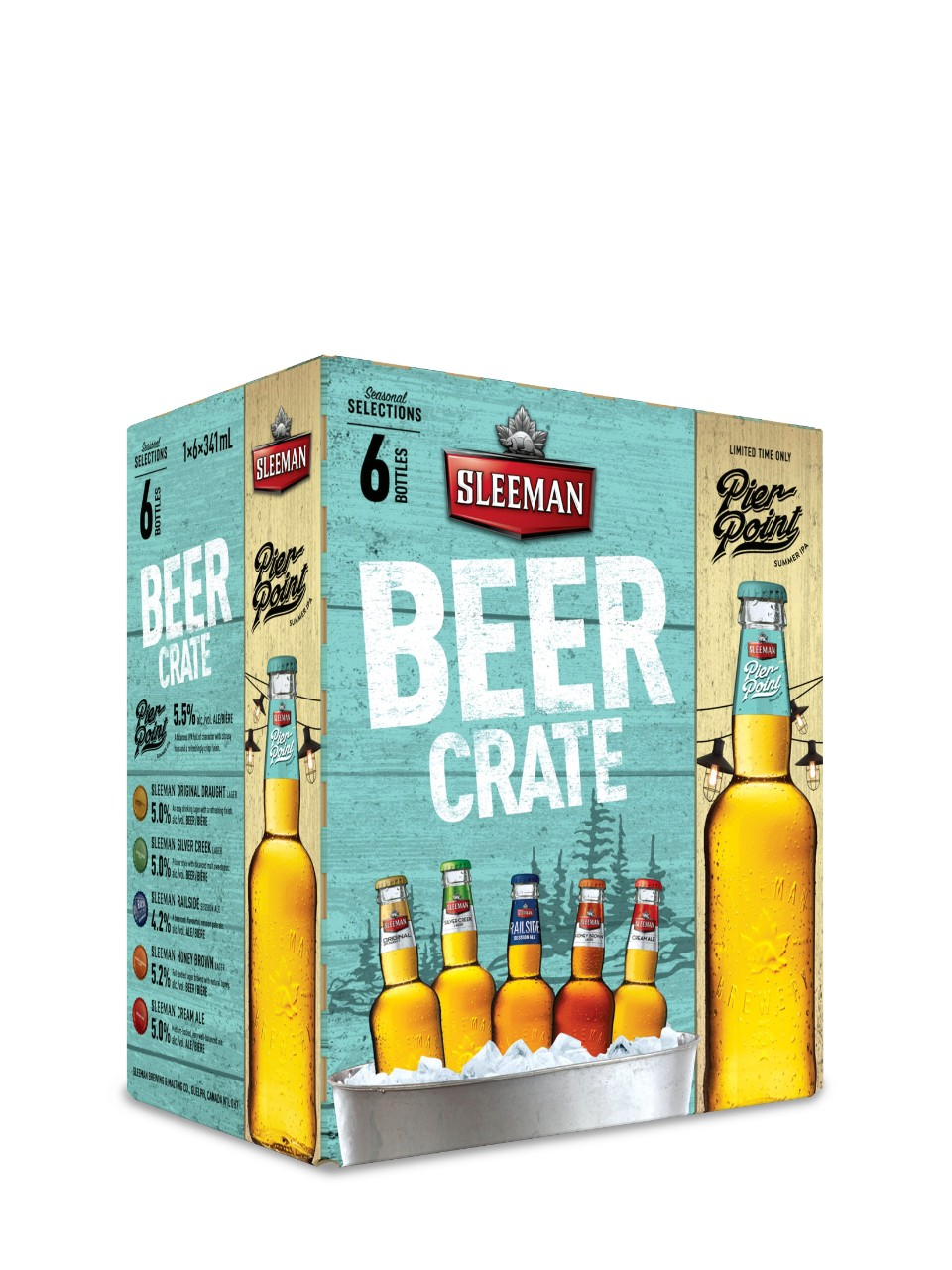 Image for Sleeman Beer Crate from LCBO