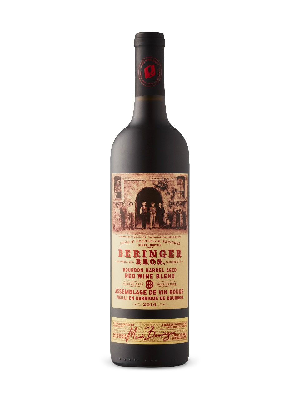 Image for Beringer Brothers Bourbon Barrel Red Blend from LCBO