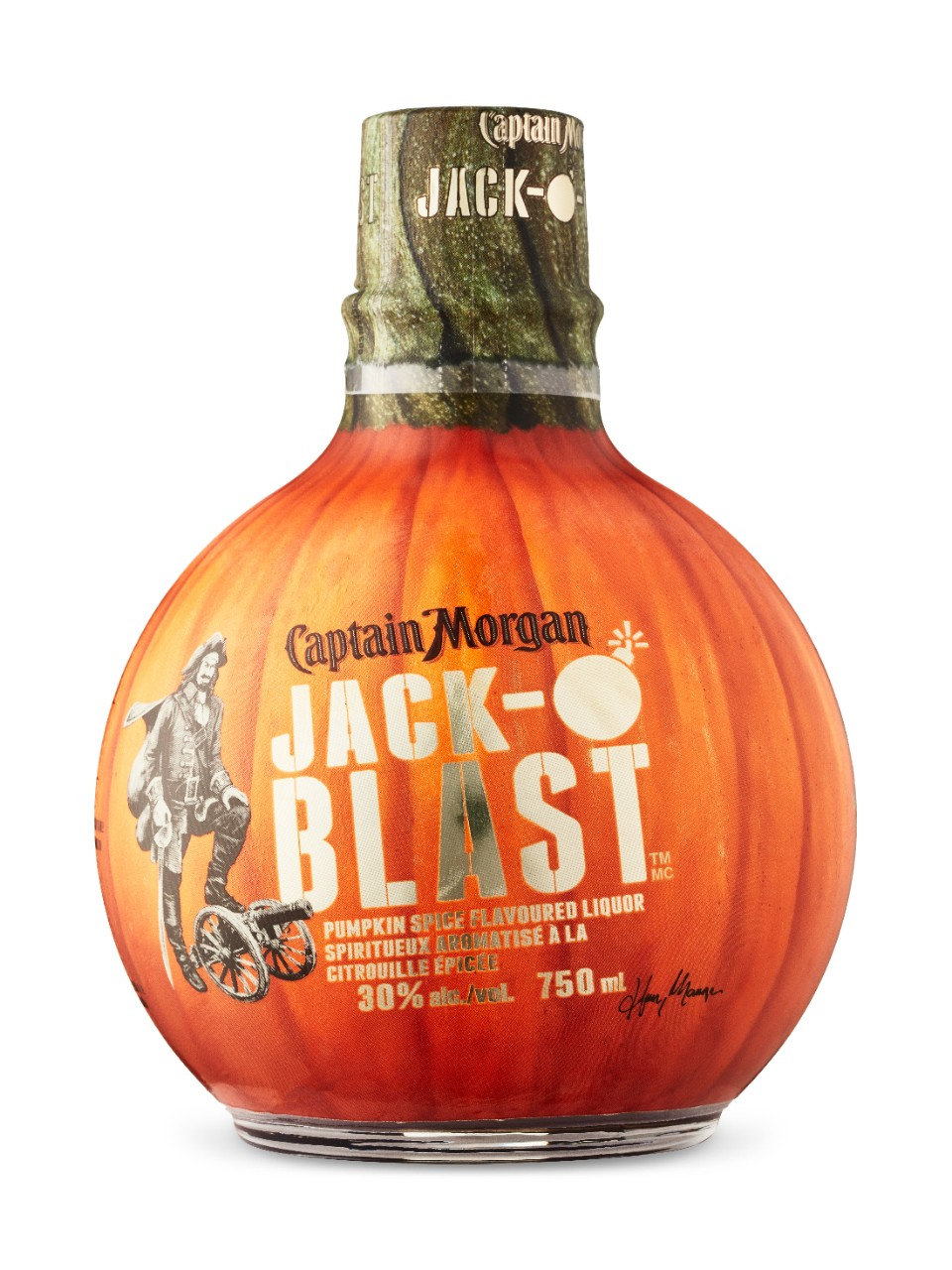 Image for Captain Morgan Jack O'Blast from LCBO