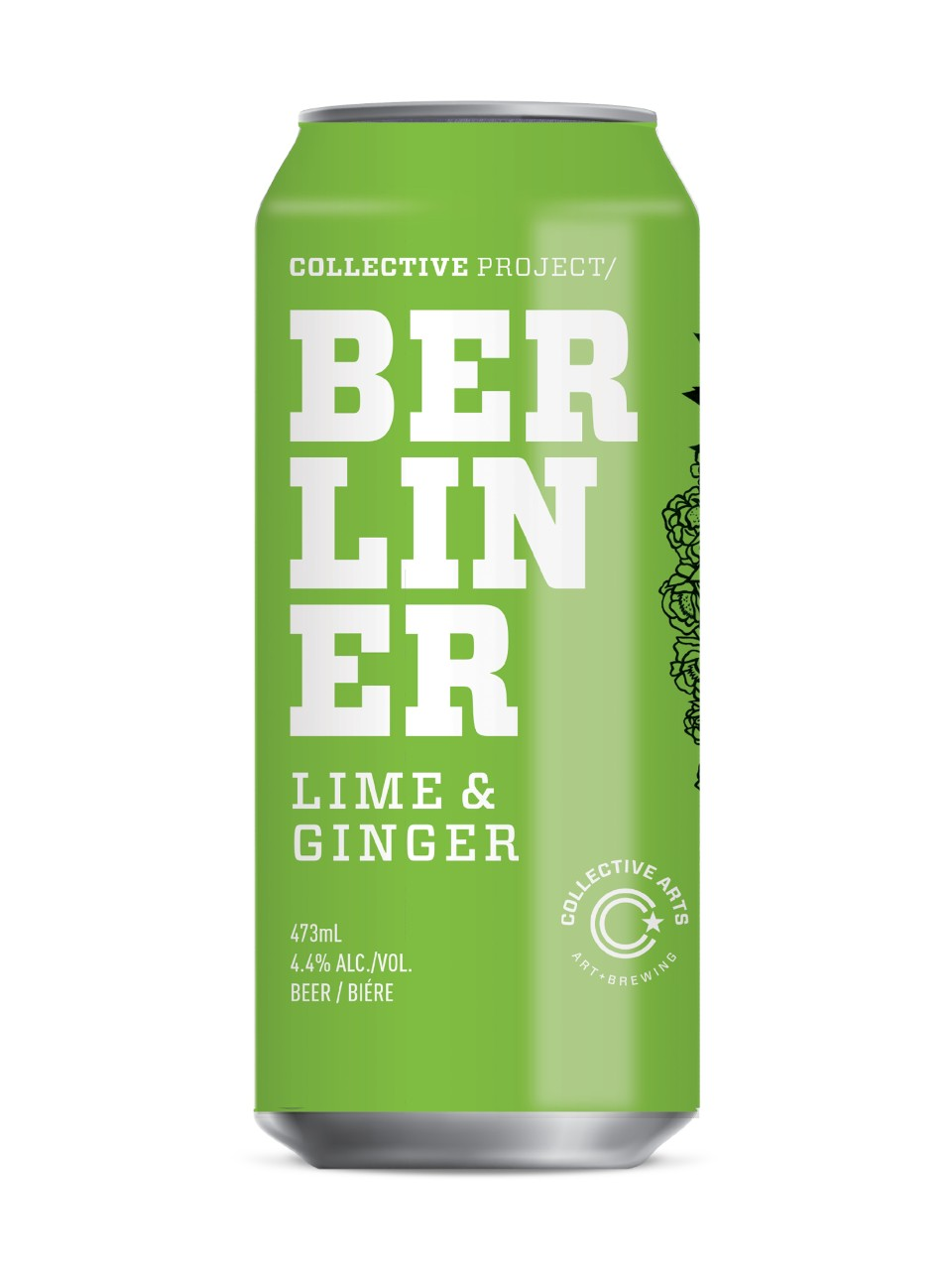 Collective Arts Lime Ginger Berliner Weisse