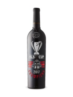 Toronto FC MLS Cup 2017 Champions Etched Red Blend