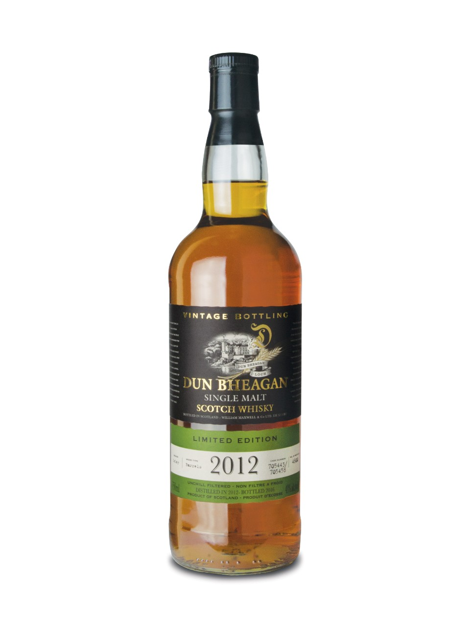 Image for Dun Bheagan Islay Single Malt Scotch Whisky from LCBO