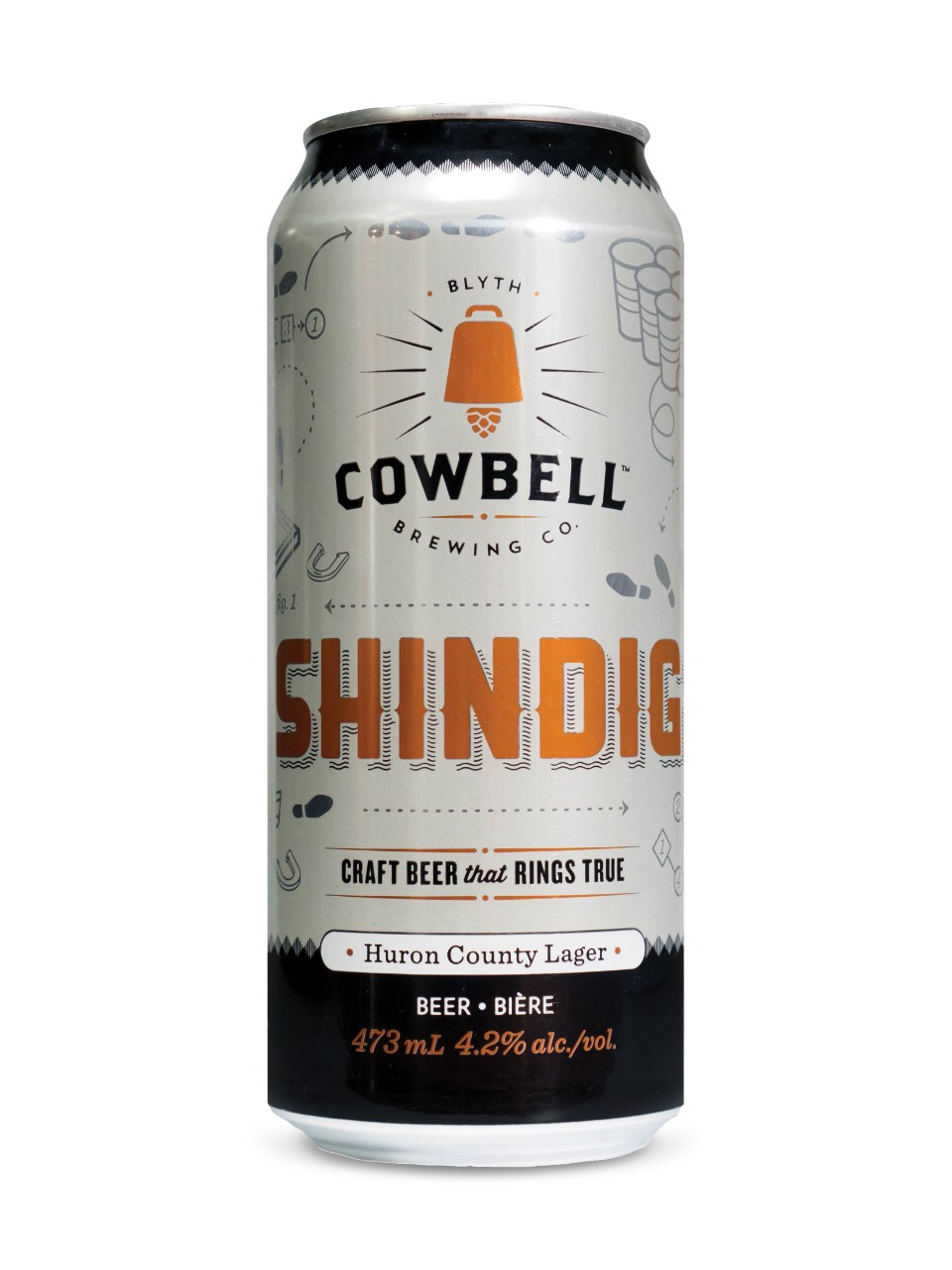 Cowbell Brewing Co. Shindig Huron County Lager from LCBO