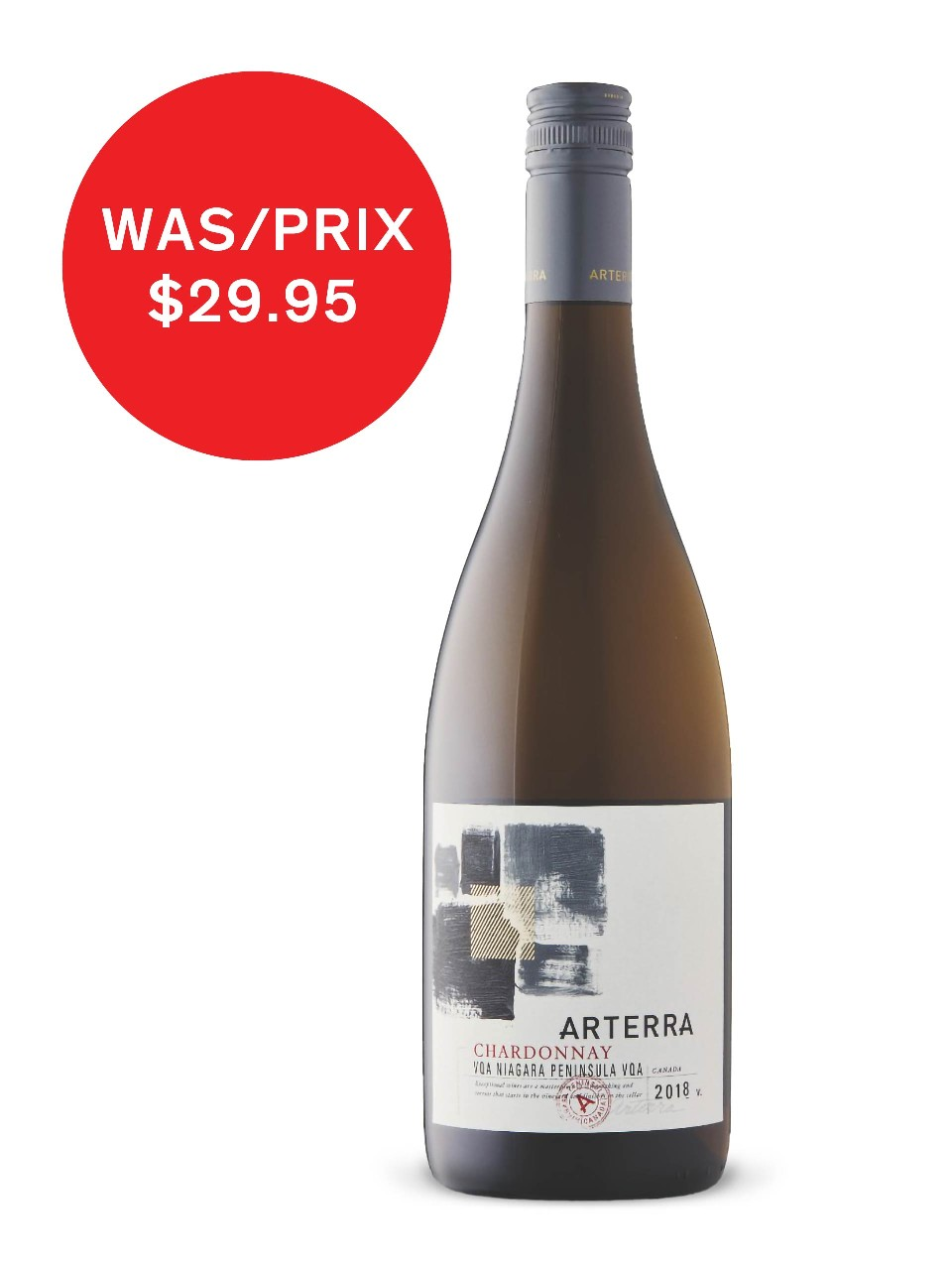 Image for Arterra Chardonnay 2016 from LCBO