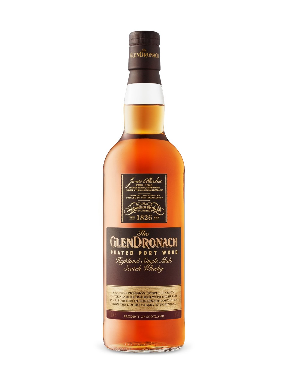 Image for Glendronach Peated Port Wood Finish Single Malt from LCBO