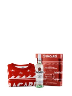Bacardi Superior W/Ugly Holiday Sweater