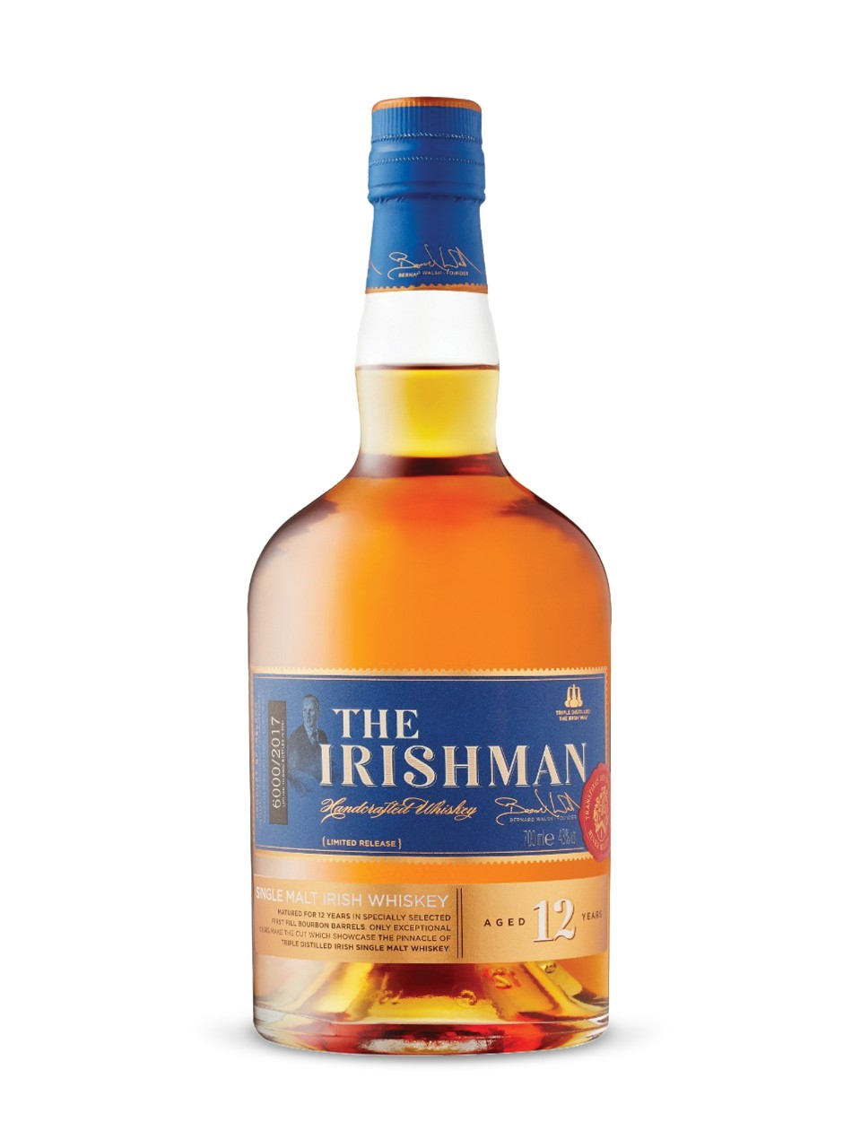 Image for The Irishman 12 Year Old Single Malt Whisky from LCBO