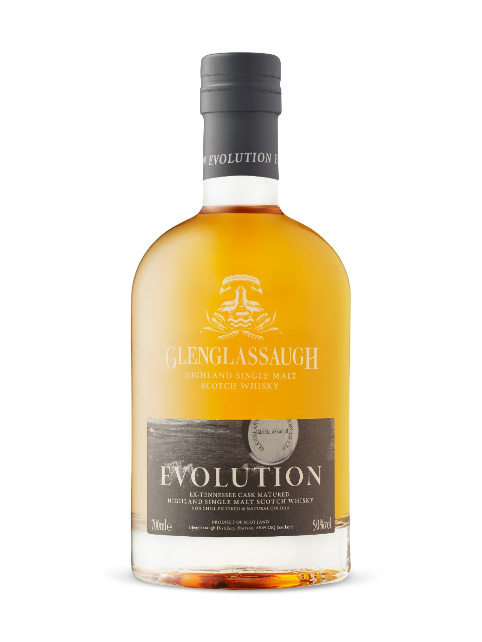 Whisky écossais Single malt Glenglassaugh Evolution