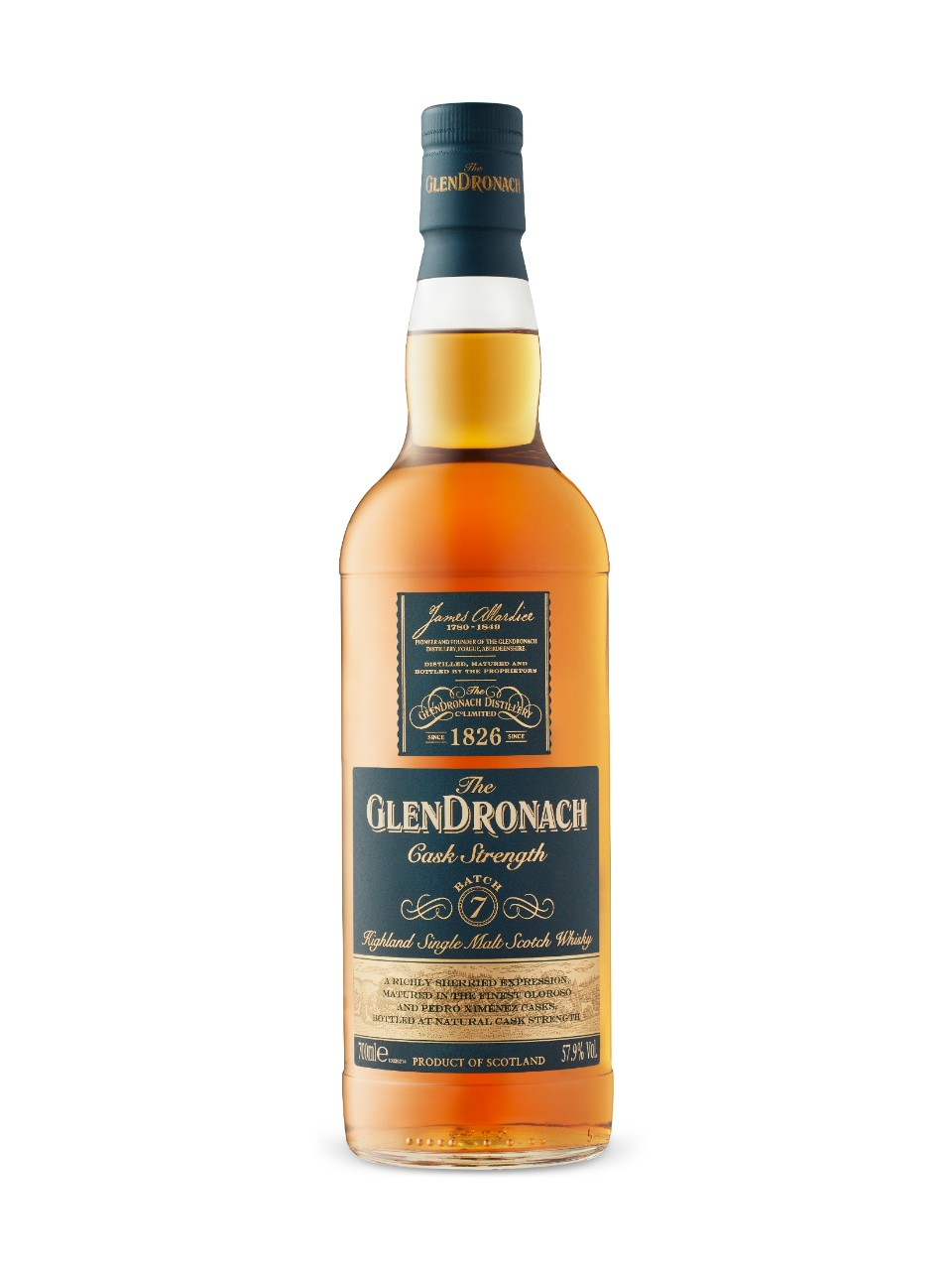 Image for Glendronach Cask Strength Batch 7 from LCBO