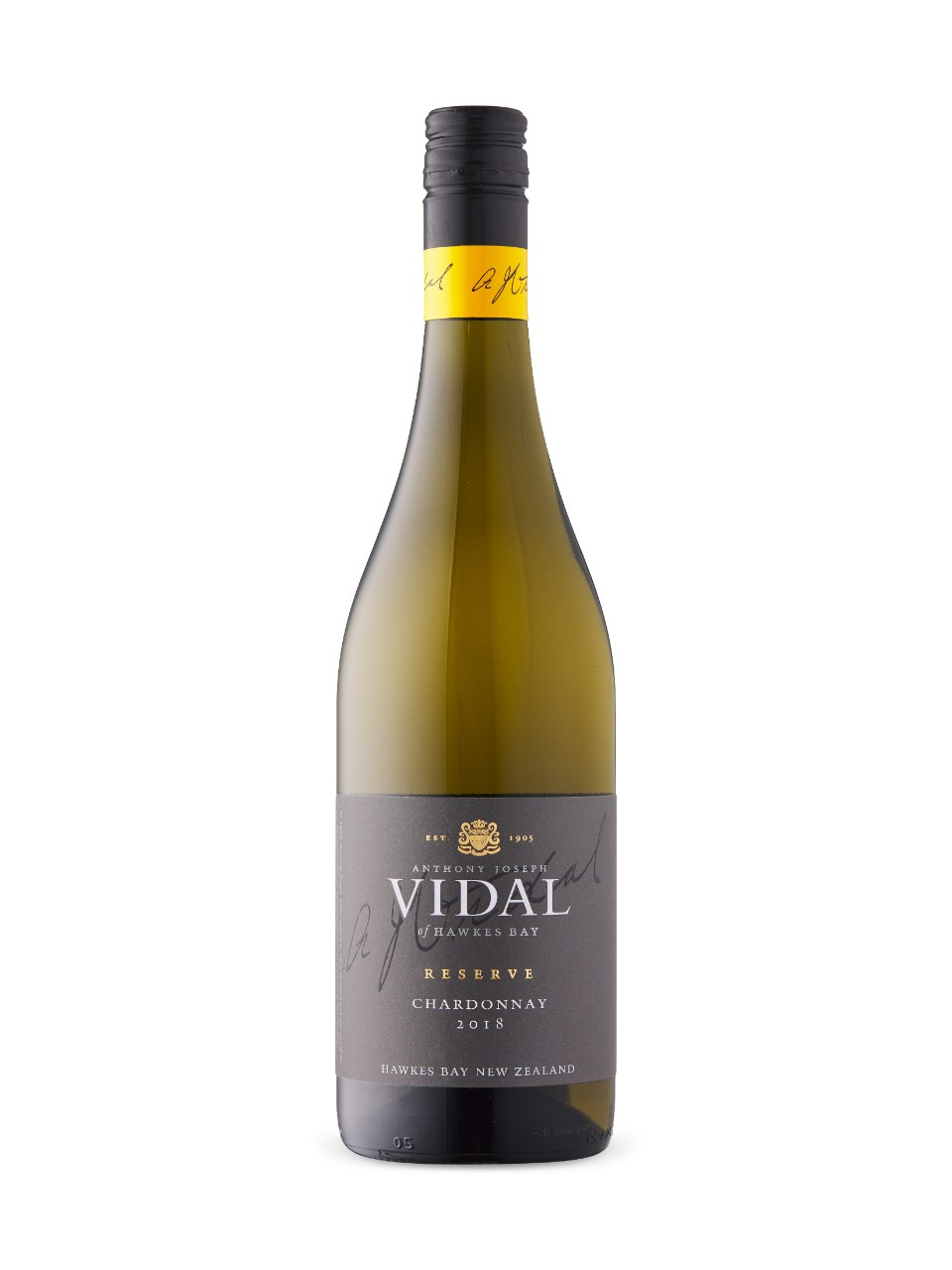 Image for Vidal Reserve Chardonnay 2017 from LCBO