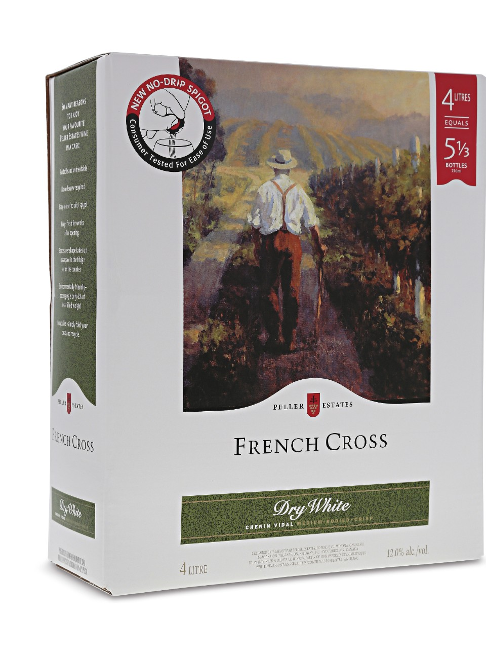 French Cross Dry White Bag in Box                                                                                               -A
