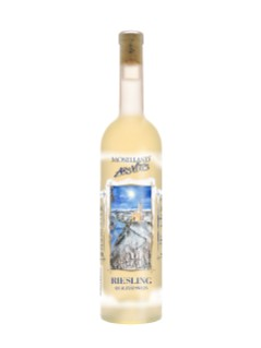 Moselland Ars Vitis Riesling Hockey Scene Bottle
