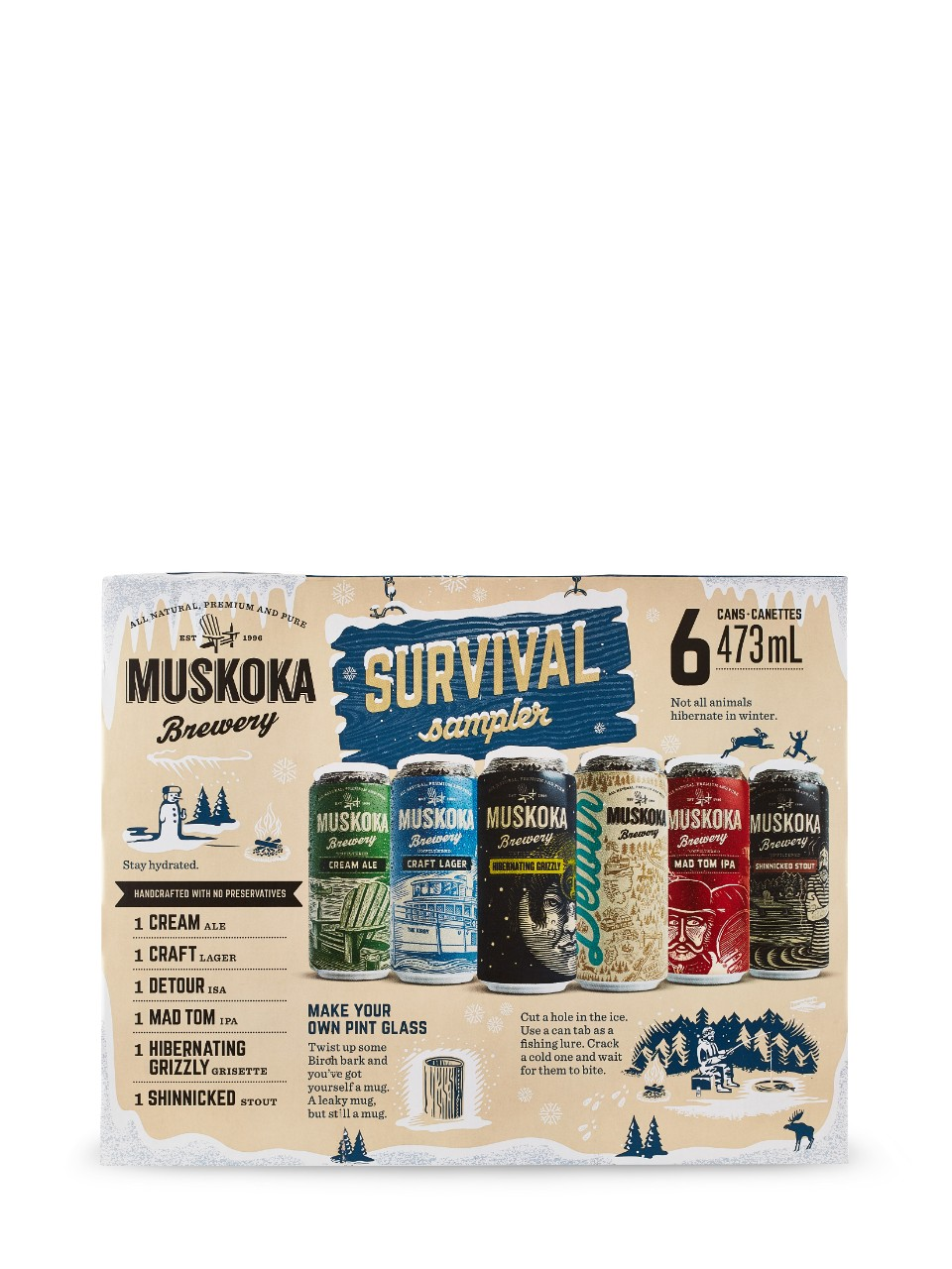 Image for Muskoka Winter Survival Pack from LCBO