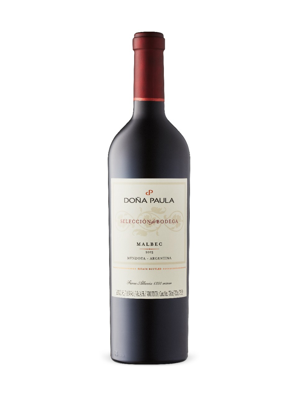 Image for Dona Paula Seleccion de Bodega Malbec 2015 from LCBO