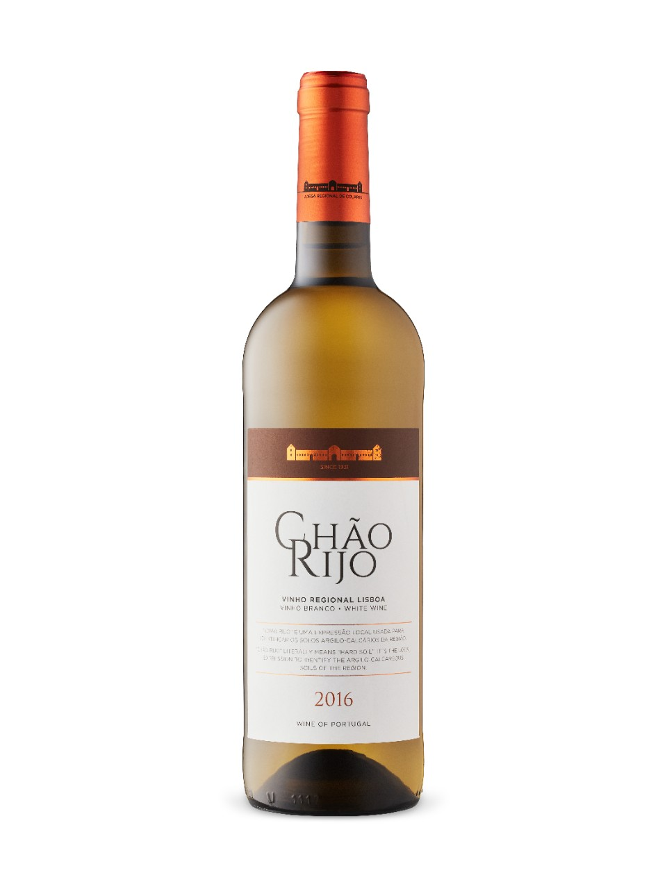Image for Chao Rijo LX White 2016 from LCBO