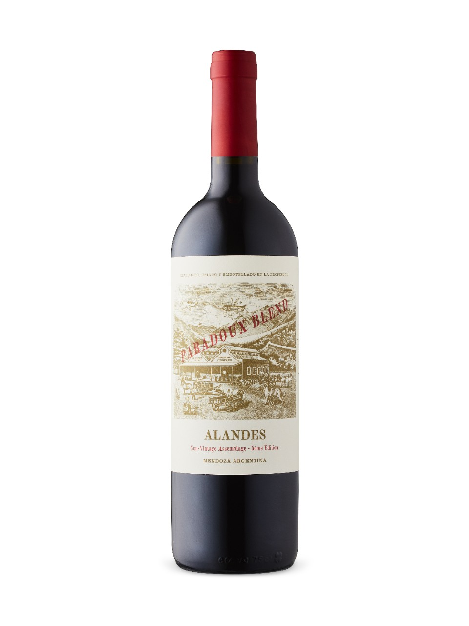 Alandes Paradoux Red from LCBO