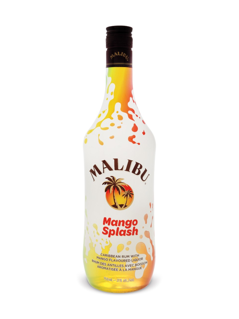 Image for Malibu Mango Rum Liqueur from LCBO