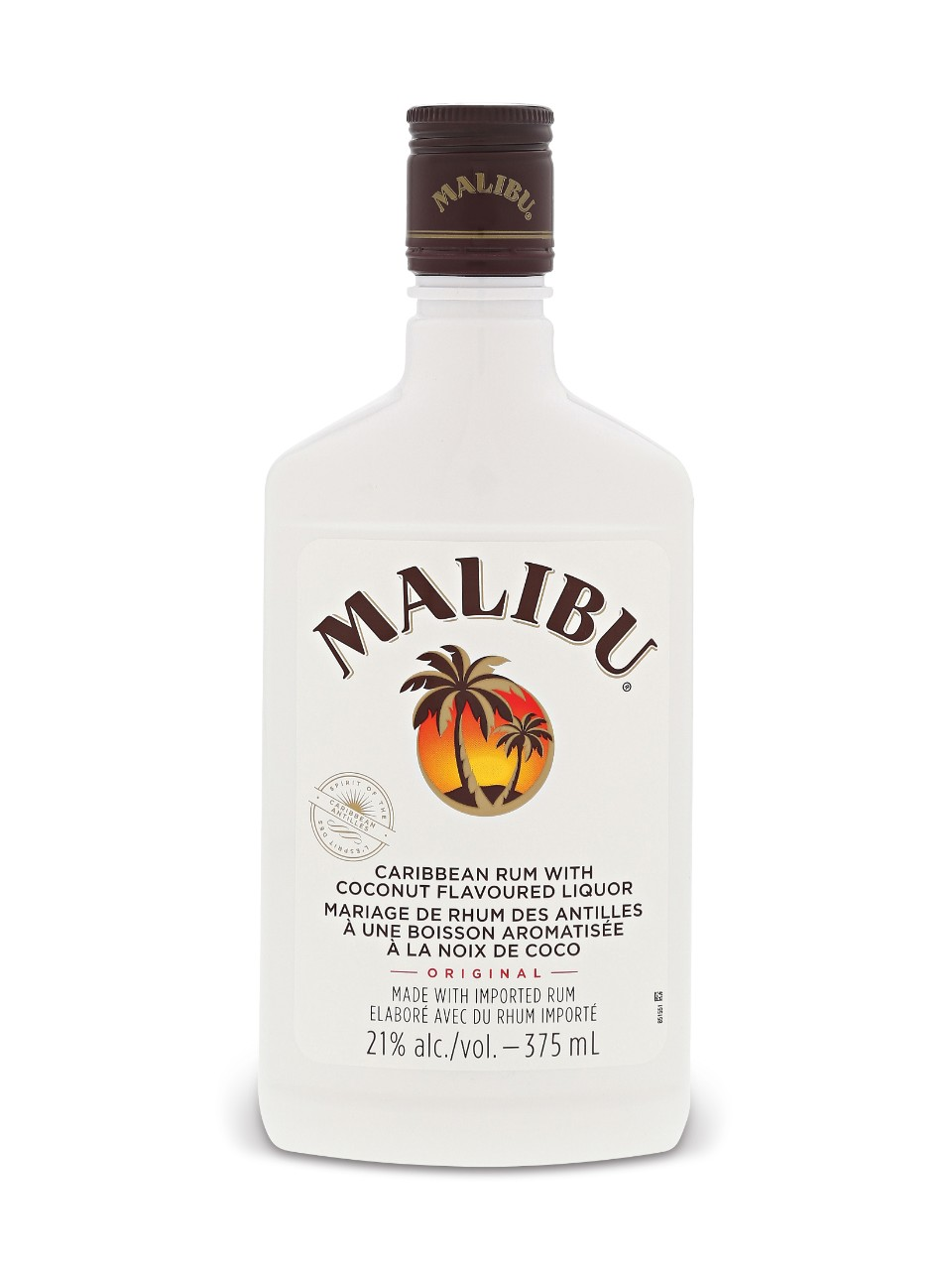 Image for Malibu Coconut Rum Liqueur (PET) from LCBO